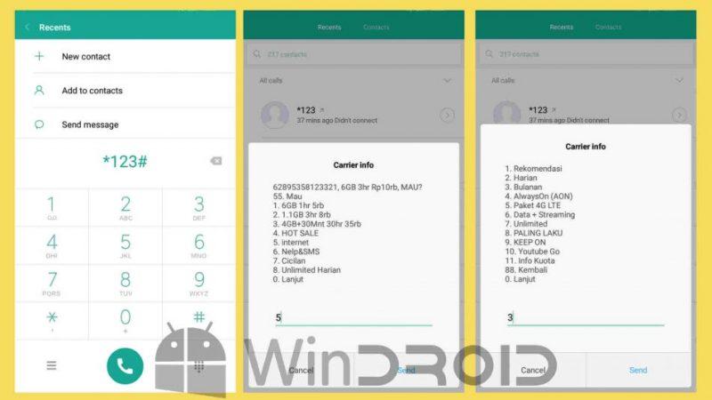 2 Paket Chat Tri Sebulan Dan Cara Daftarnya Terbaru 2021
