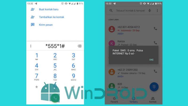 Cek Pulsa SMS Indosat