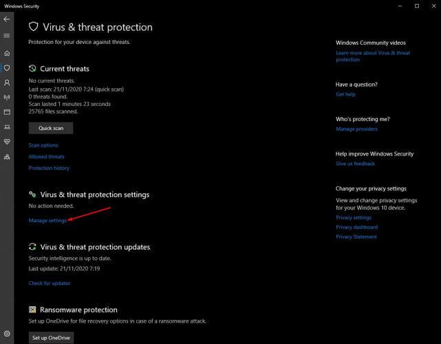 cara mematikan antivirus windows 10 pro