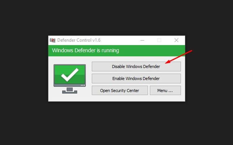 cara mematikan antivirus windows 10 dengan aplikasi