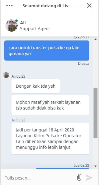 Cara Transfer Pulsa Smartfren ke Operator Lain