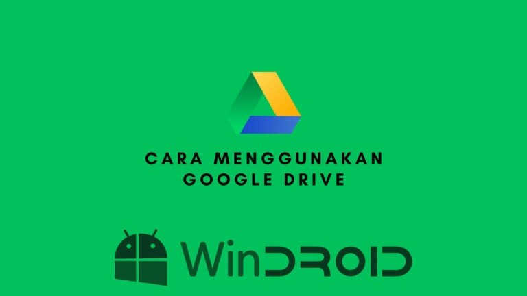 cara menggunakan google drive dengan benar