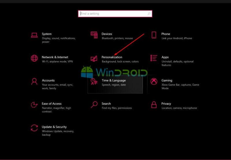 cara mengubah wallpaper laptop windows 10