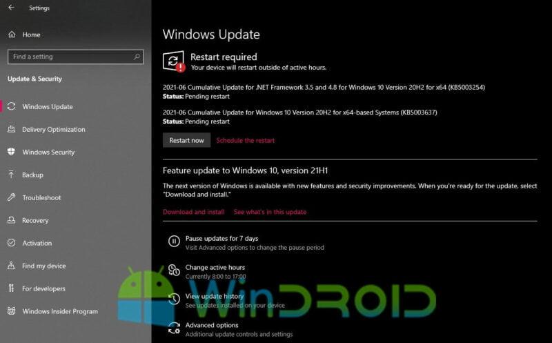 cara update windows 10 terbaru