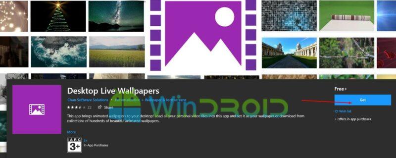 live wallpaper windows 10 gratis
