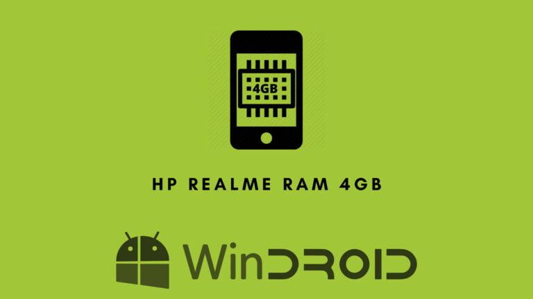 hape realme ram 4gb